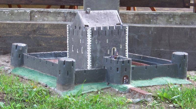 Макет замку