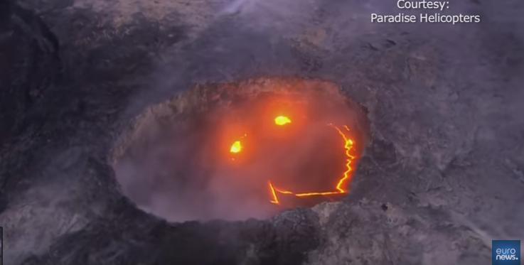 Коли природа дивує: на Гаваях посміхнувся вулкан (ВІДЕО)