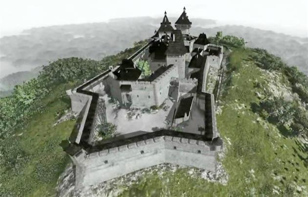 На Закарпатті знаходиться справжній замок Дракули