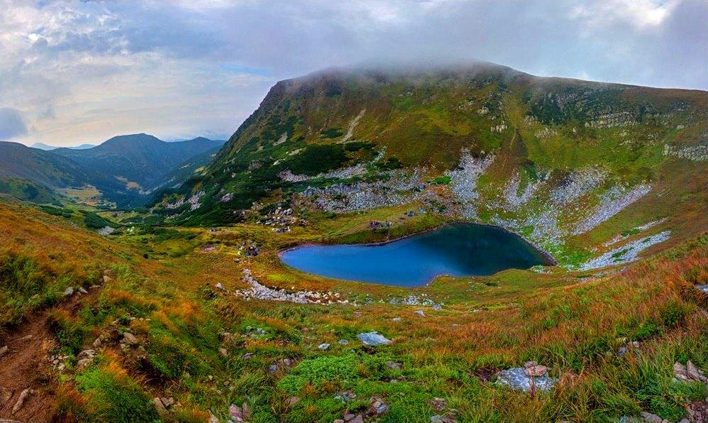 Бребенескул - це найвисокогірніше озеро українських Карпат